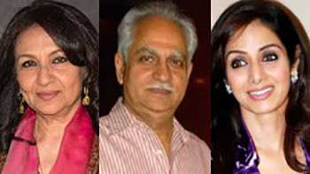 Sharmila Tagore, Ramesh Sippy and Sridevi honored with Padma awards