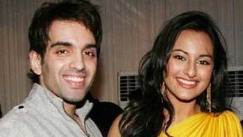 Sonakshi Sinha shoots for an ad film with brother Kush Sinha