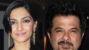 Sonam Kapoor and Anil Kapoor together in 'Bombay Talkies'