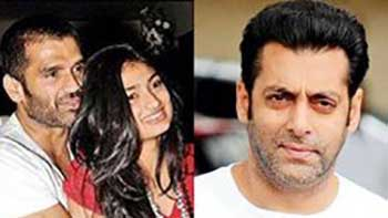 Suniel Shetty's daughter to be launched by Salman Khan