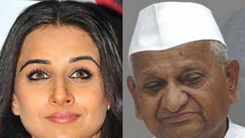 Vidya Balan and Anna Hazare to be a part of Indian Day Parade in US