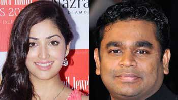 Yami Gautam features in A. R. Rahman's music album