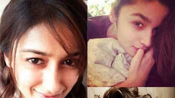 Bollywood beauties post no makeup selfies for a cause
