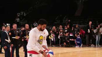 Abhishek Bachchan's Back Injury at NBA All Star Celebrity Game