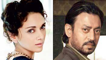 Aditi Rao Hydari to essay Irrfan Khan's wife in a comedy thriller