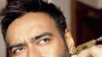 Ajay Devgn gets his ears pierced for 'Shivay'