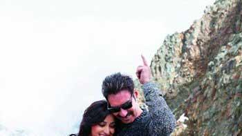 Ajay Devgn romances Yami Gautam on the Alps Mountain