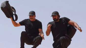Akshay Kumar beats Rana Daggubati in arm-wrestling match