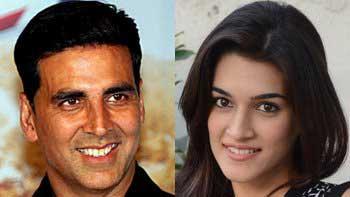 Akshay Kumar to woo Kriti Sanon in 'Singh Is Bling'