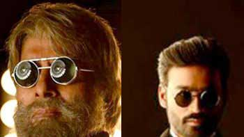 Amitabh Bachchan and Dhanush\'s look unveiled from \'Shamitabh\'