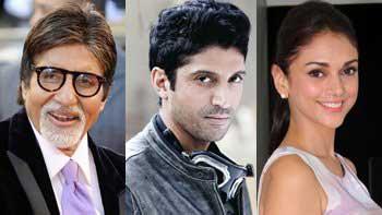 Amitabh Bachchan, Farhan Akhtar and Aditi Rao Hydari to star together