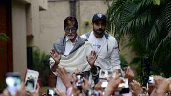 Amitabh Bachchan feels proud lending his stardom to son Abhishek Bachchan