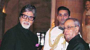Amitabh Bachchan Honoured With Padma Vibhushan