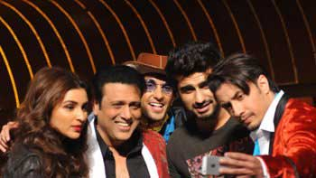 Arjun Kapoor pays surprise visit to 'Kill Dil' music launch