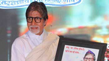 Big B Volunteers to Be the Face of Road Safety