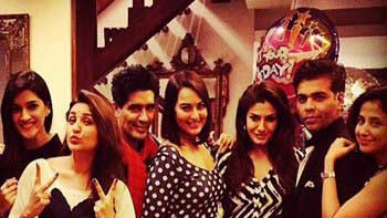 Bollywood stars stud to celebrate Manish Malhotra's birthday party
