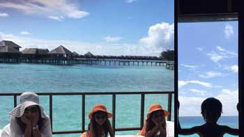Farah Khan Having a Relaxed Time in Maldives