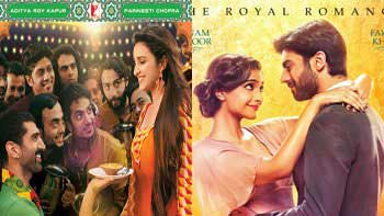 First weekend box-office collection of 'Daawat-E-Ishq' and 'Khoobsurat'