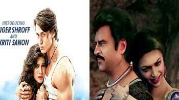 First Weekend Box Office Collection of 'Heropanti' and 'Kochadaiiyaan'