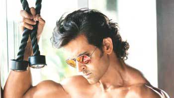 Hrithik Roshan goes bare bodied to shoot \'HRX\' commercial