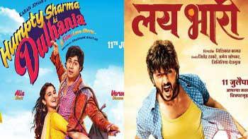 \'Humpty Sharma Ki Dulhania\' and \'Lai Bhari\' get a solid start!