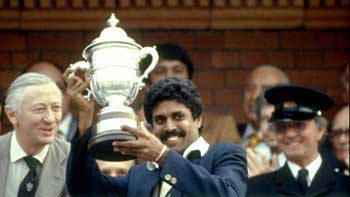 India's 1983 Cricket World Cup Victory to be turned into a movie