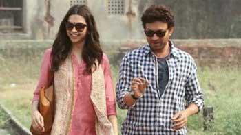 Irrfan - Deepika the pranksters on the sets of Piku