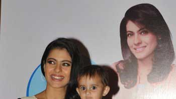 Kajol became a part of 'Huggies Priceless Moments Mobile'