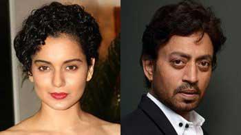 Kangana Ranaut, Irrfan Khan in 'Divine Lovers'