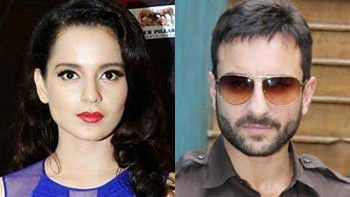Kangana Ranaut to romance Saif Ali Khan in next?