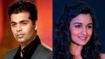 Karan Johar might play Alia Bhatt's Dad in 'Shaandar'