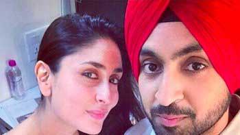 Kareena Enjoys Punjabi Delicacies With Diljit Dosanjh