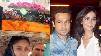 Kareena Kapoor, Emraan Hashmi and Humaima Malick visit Ajmer Dargah