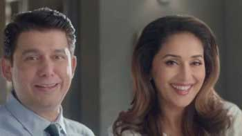 Madhuri Dixit and husband Sriram Nene to feature in an ad