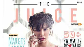 Nargis Fakhri Sizzles As The Cover Girl On April Issue Of 'The Juice'