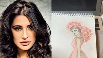 Nargis Fakhri Turns Sketch Artist