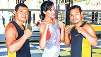 Nargis's Muay Thai Boot Camp