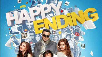 Peep in Saif Ali Khan\'s mind with \'Happy Ending\' latest poster