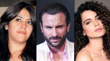 Producer Ekta Kapoor Postpones Her Next Starring Saif-Kangana Due To Budget Issues!