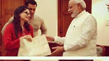 Salman Khan and Alvira Agnihotri invite PM Narendra Modi for their sister Arpita's wedding