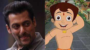 Salman Khan and Chhota Bheem to kick-off the evil together!