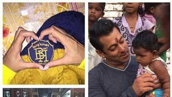 Salman Khan gifts Being Human goodies to Sonam Kapoor