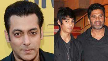 Salman Khan promises Suniel Shetty to launch his son Ahaan