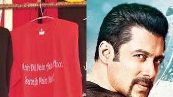 Salman Khan\'s \'Kick\' dialogue gets penned on t-shirts!