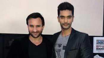 Scions of Cricketing Legends Saif Ali Khan and Angad Bedi to share a screen together