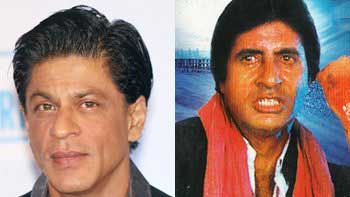 Shah Rukh Khan to play Amitabh Bachchan in remake of \'Hum\'?