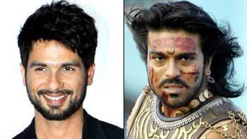 Shahid Kapoor is Excited about 'Magadheera' Remake