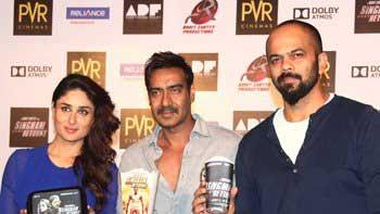 'Singham Returns' launches its exclusive merchandise