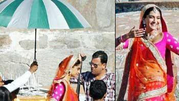 Sonam Kapoor Resumes Shooting For 'Prem Ratan Dhan Payo'