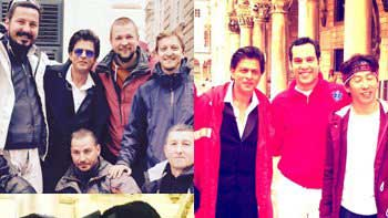 SRK Wraps Up The Shoot of 'Fan' on A Happy Note!